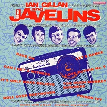 DP Le livre Ian Gillan The Javelins réedition