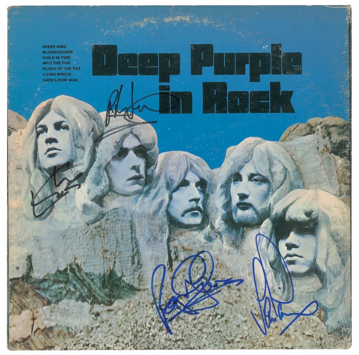 In-rock-deep-purple-le-livre-50ans-vinyl-signé