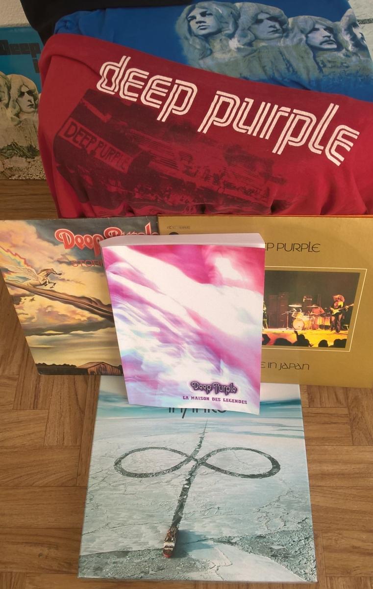Deep Purple La Maison des Légendes 50 ans le livre en français - Copie
