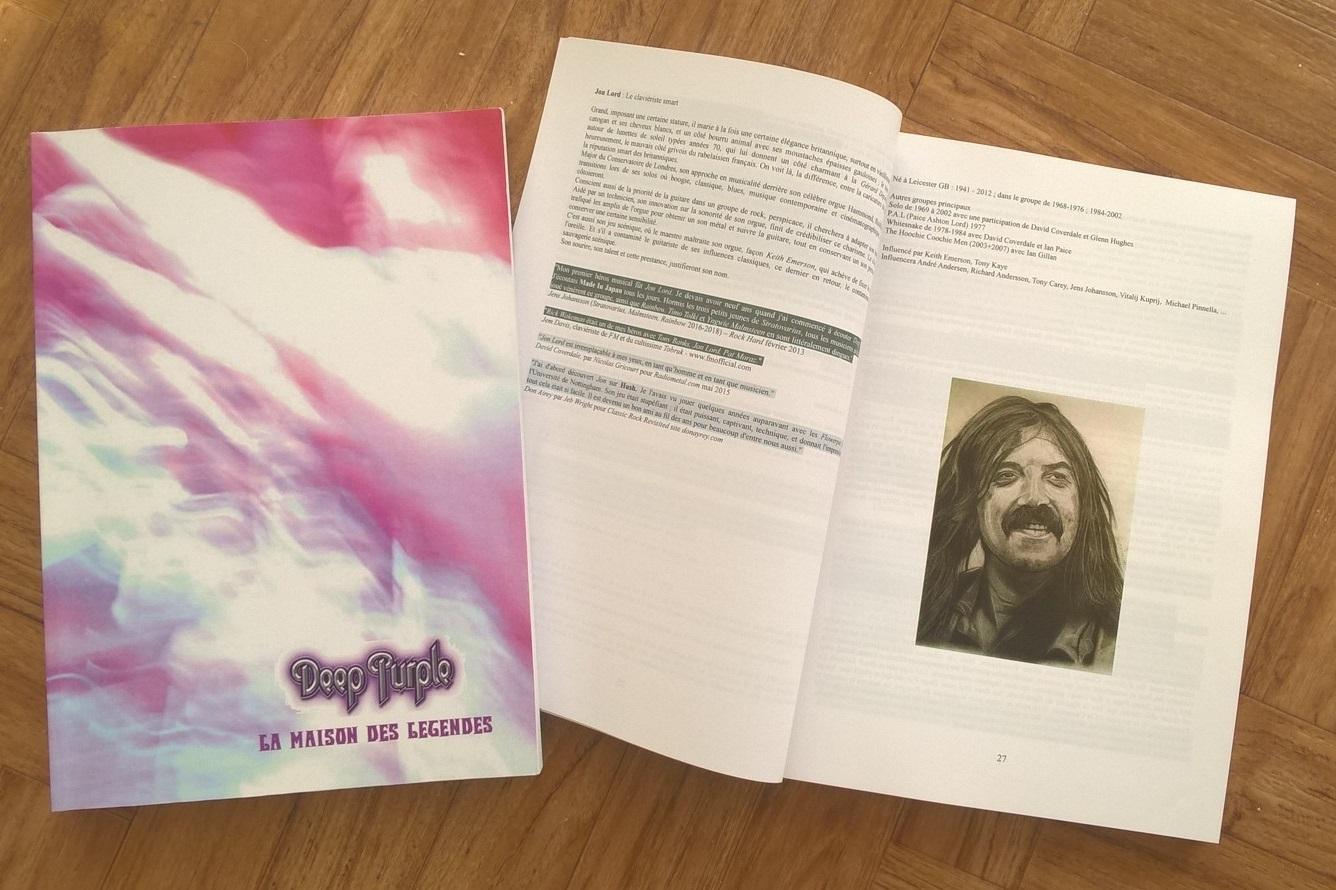 Extrait livre Deep Purple La Maison des Legendes Mk I