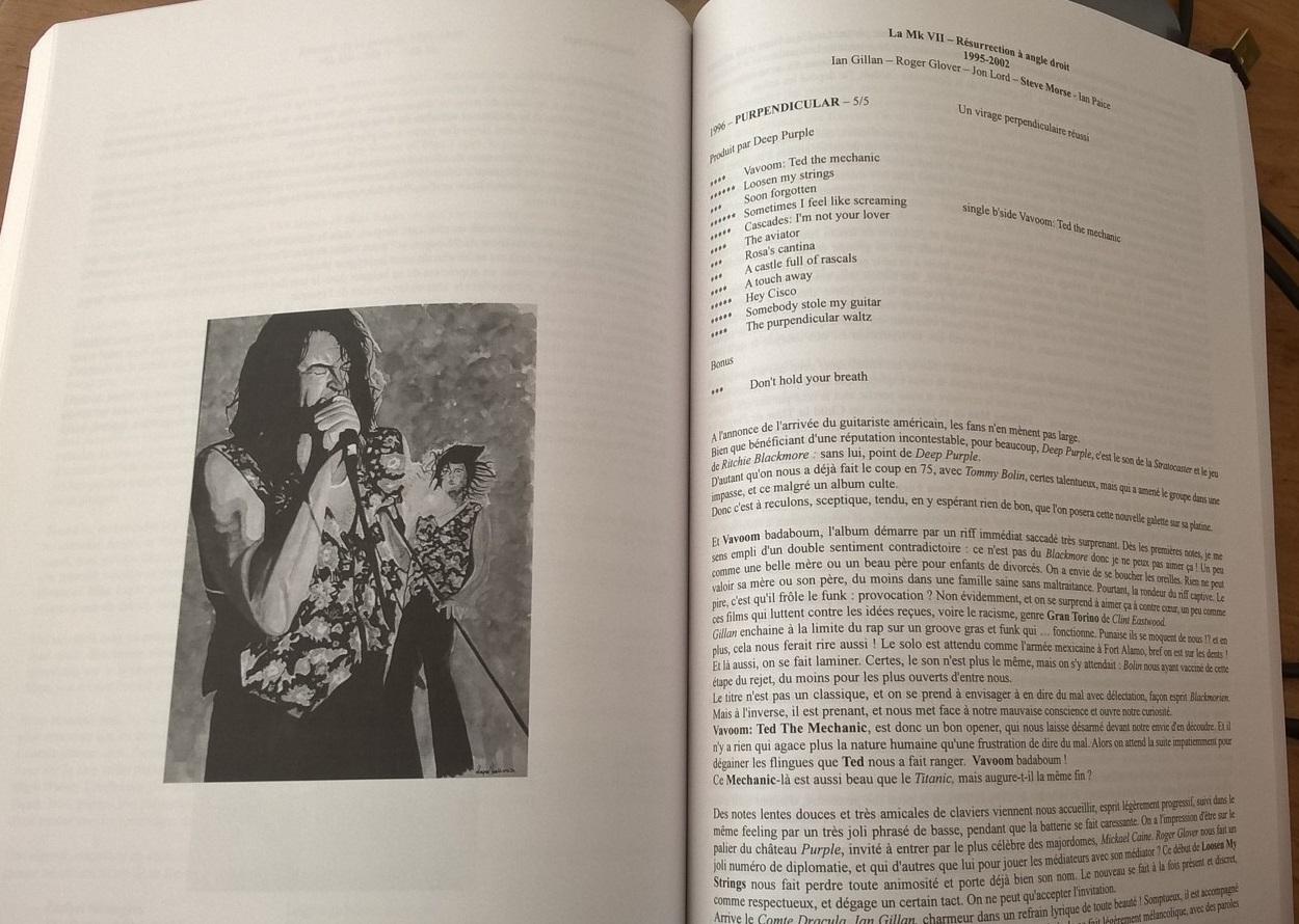 Extrait livre Deep Purple La Maison des Legendes Mk VII